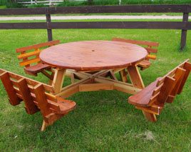 ITEM 615.01050024 – PICNIC TABLE ITEM 615.01060024 – PICNIC